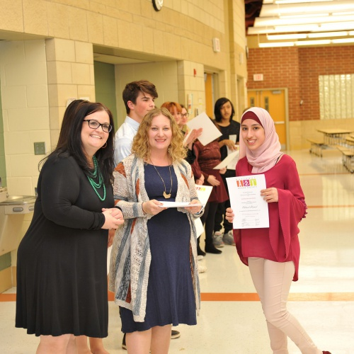 National Art Honors Society Induction Ceremony